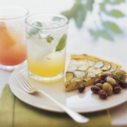 Herb Frittata with Zucchini and Yellow Squash