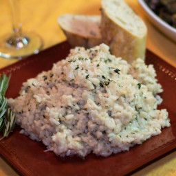 Herb Risotto with Rosemary and Thyme