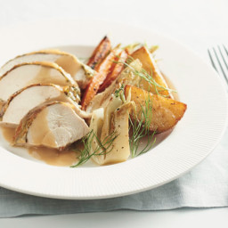 Herb-Roasted Chicken with Vegetables