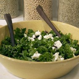 Herb Salad with Feta Cheese