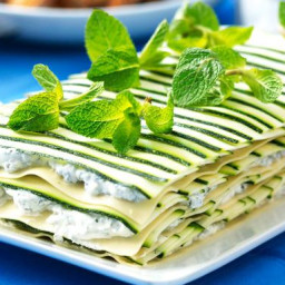 Herb Soft Cheese And Zucchini Lasagna