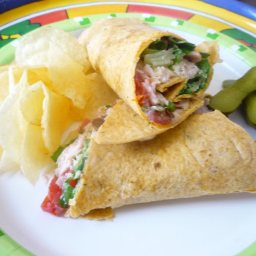 Herb Turkey Club Tortilla