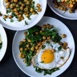 Herbed Chickpeas