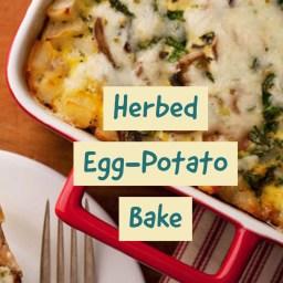 Herbed Egg-Potato Bake