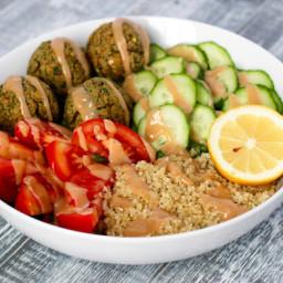Herbed Falafel