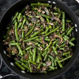 Herbed Green Beans and Mushrooms