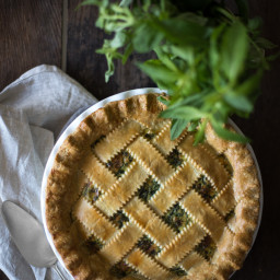 Herbed Ricotta and Spinach Pie