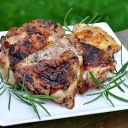 Herb Grilled Chicken Thighs