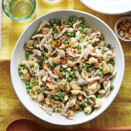 Herby Pea and Lemon Pasta Salad