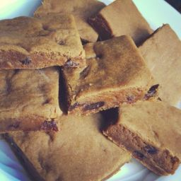 Hermit Bars - Chewy Molasses Cookie Bars