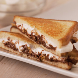 HERSHEY'S Grilled S'mores-wich Recipe