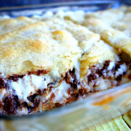 Hidden S'mores – Dessert Casserole