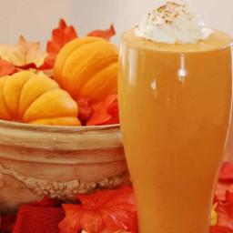 High Protein Pumpkin Peanut Butter Smoothie