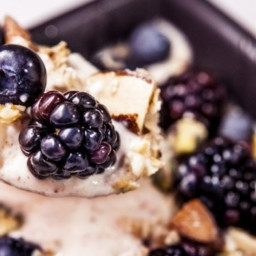 High Protein Yoghurt With Fruit And Nuts