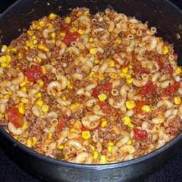 Hillbilly Macaroni Dinner