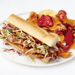 Hoisin Barbecue Pork Sandwiches