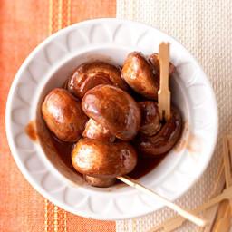 Hoisin-Garlic Mushroom Appetizers