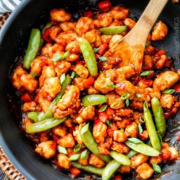Hoisin Ginger Chicken Stir Fry