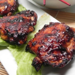 Hoisin-Glazed Chicken Thighs Recipe