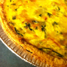 Breakfast Spinach Quiche