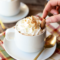 Holiday DIYs in a Ja (4): Gingerbread Hot Chocolate