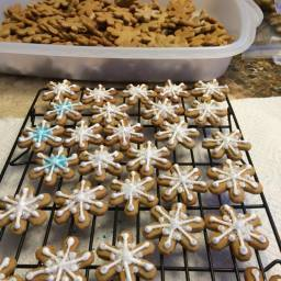 Holiday Ginger Cookies from Stella