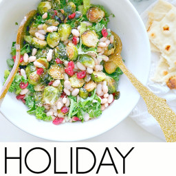 Holiday Kale & Cranberry Salad