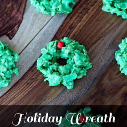 Holiday Wreath Cookies