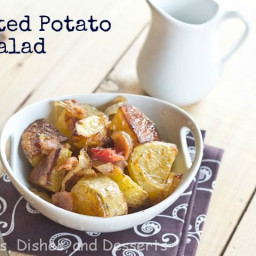 Roasted Potato Salad with Caramelized Onions and Bacon