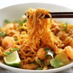 Lime Shrimp Dragon Noodles