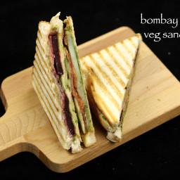 bombay veg grilled sandwich recipe | vegetable grilled sandwich recipe
