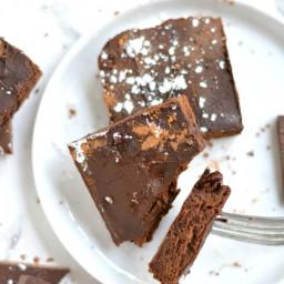100 Calorie Fudge Brownies {Low Cal, GF}