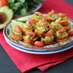 Mexican Cauliflower Mini Muffins