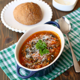 Italian Sausage-Spinach Soup