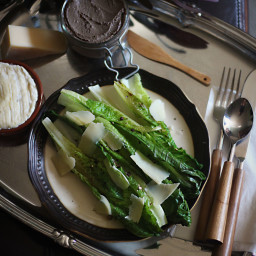 American Horror Story: Hotel - Grilled Romaine with Pate
