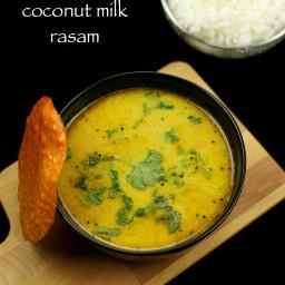 coconut milk rasam recipe | kayi halu rasam | thengai paal rasam