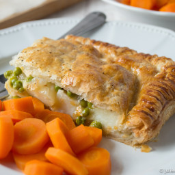 Easy Cheddar Cheese and Potato Pie