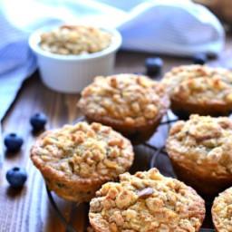 Blueberry Granola Muffins