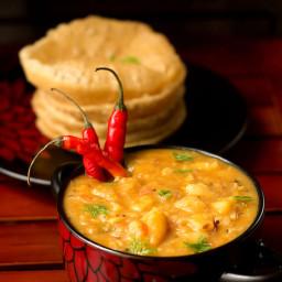 Poori Masala Recipe, How to make Aloo Poori Masala Recipe