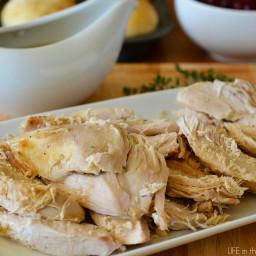 Crock Pot Turkey and Gravy