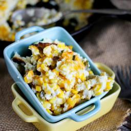 Six Ingredient Corn Souffle