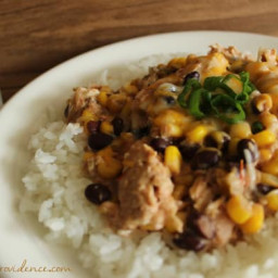 Creamy Crock-Pot Fiesta Chicken