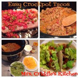 Easy Crockpot Tacos