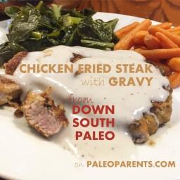 Home-Style Chicken-Fried Steak and Cream Gravy