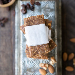 Homemade Apple Pie Larabars (Gluten Free, Paleo, Whole30 + Vegan)