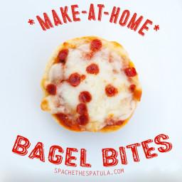 Homemade Bagel Bites