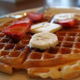 Homemade Belgian Waffles