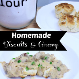 Homemade Biscuits and Gravy Recipe