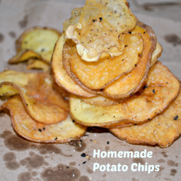 Homemade Black Pepper Potato Chips Recipe