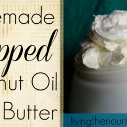 Homemade Body Butter Recipe: Whipped Coconut Oil